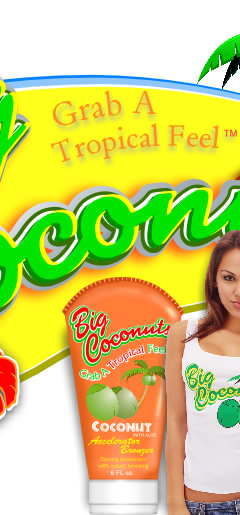 Sun Screen and body lotions from Big Coconuts
